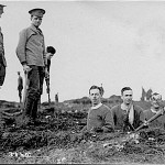 Inns of Court OTC, Trench digging (Chiltern Conservation Group)