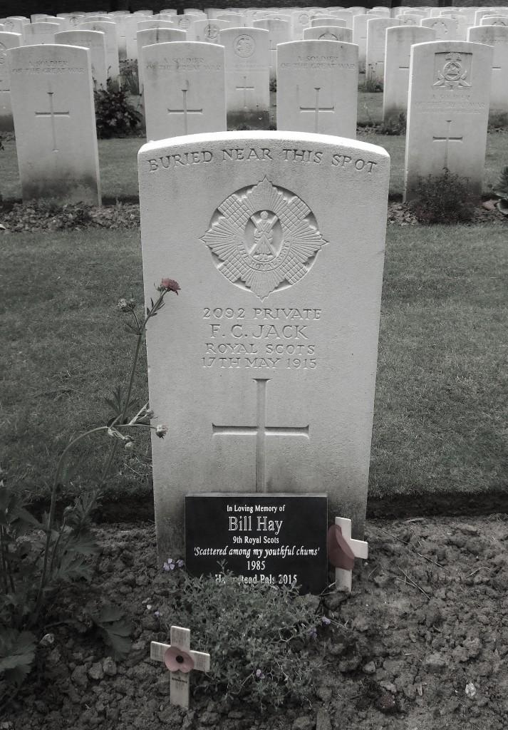 Bill Hay Gravestone